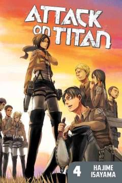 Attack on Titan. 4 cover image