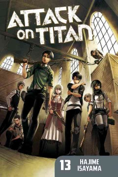Attack on Titan. 13, No safe place left cover image