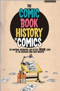 The comic book history of comics cover image