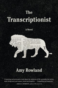 The transcriptionist cover image