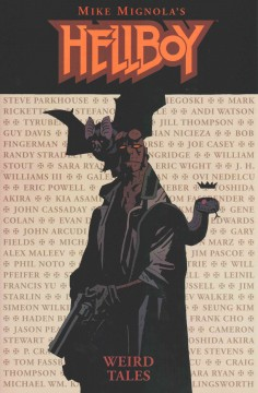 Hellboy. Weird Tales cover image