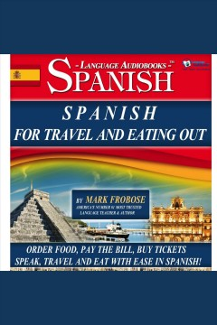 Spanish for travel and eating out cover image