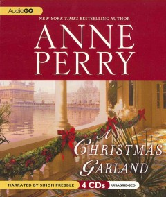 A Christmas garland cover image