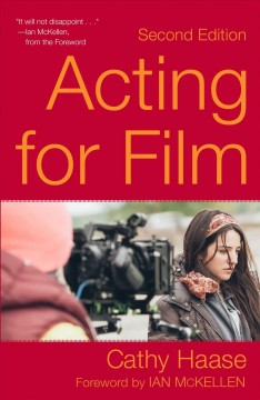 Acting for film cover image