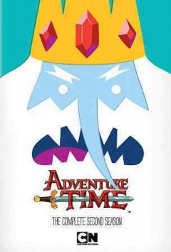 Adventure time. The complete second season cover image