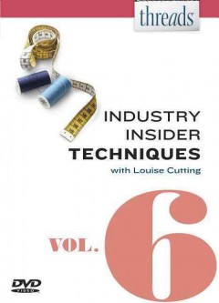 Threads industry insider techniques. Vol. 6 cover image