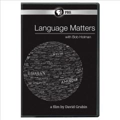 Language matters with Bob Holman cover image