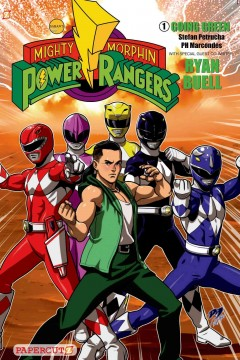 """Mighty Morphin Power Rangers. 2, """"Going green"""" cover image"""