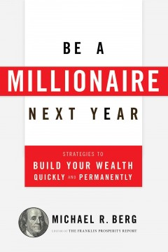 Be a millionaire next year cover image