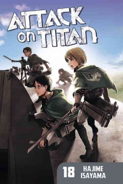 Attack on Titan. 18 cover image