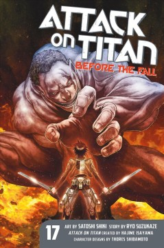 Attack on Titan. Before the fall. 17 cover image