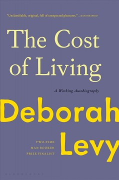 The cost of living : a working autobiography cover image