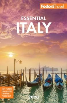 Fodor's essential Italy cover image