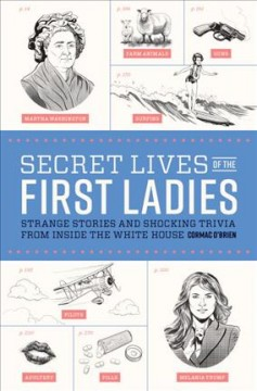 Secret lives of the first ladies : strange stories and shocking trivia from inside the White House cover image