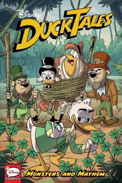 Ducktales. Monsters and mayhem cover image