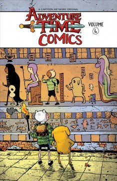 Adventure time comics. Volume 4 cover image
