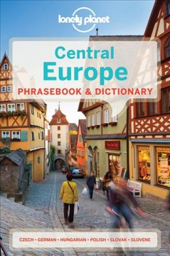 Lonely Planet. Central Europe phrasebook & dictionary cover image