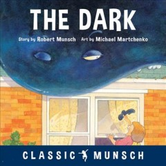 The dark cover image