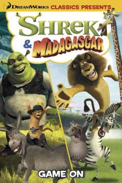 Shrek & Madagascar. Game on cover image