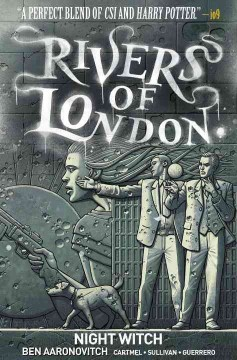 Rivers of london, Night witch cover image