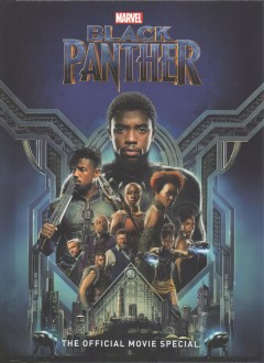 Black Panther : the official movie special cover image