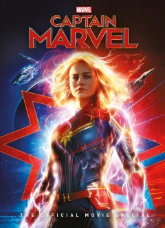 Captain Marvel : the official movie special cover image