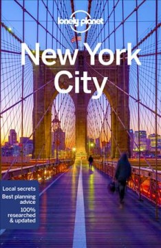 Lonely Planet. New York City cover image