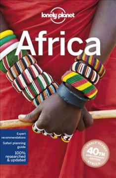Lonely Planet. Africa cover image