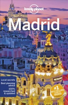 Lonely Planet. Madrid cover image