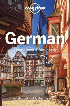 Lonely Planet. German phrasebook cover image