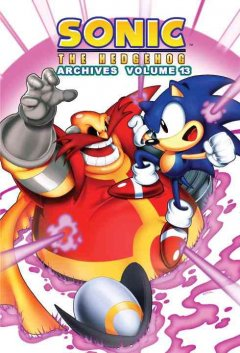 Sonic the Hedgehog archives. Volume 13 cover image