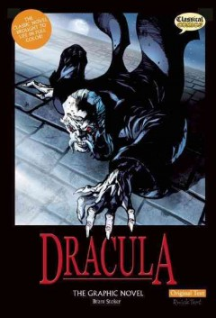 Dracula : the graphic novel cover image
