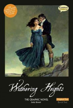 Wuthering heights : the graphic novel cover image