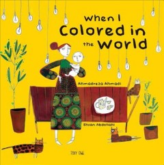 When I colored in the world cover image
