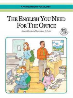 The English you need for the office a picture process vocabulary cover image