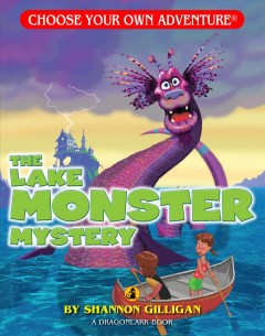 The lake monster mystery cover image