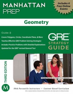 Geometry : GRE strategy guide cover image