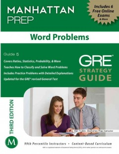 Word Problems : GRE Strategy Guide cover image