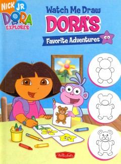 Dora's favorite adventures : let's draw! cover image