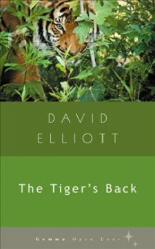 The tiger's back cover image