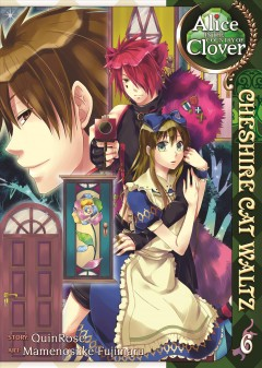 Alice in the country of Clover. Cheshire Cat waltz, 6 cover image