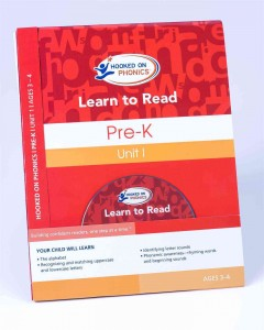 Hooked on phonics. Learn to read. Pre-K, unit 1, ages 3-4 cover image