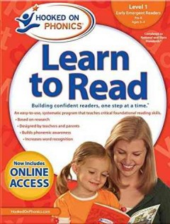 Hooked on phonics. Learn to read, Level 1, early emergent readers, Pre-K ages 3-4 cover image
