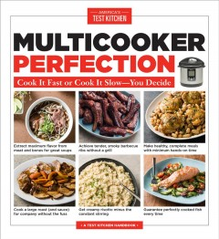 Multicooker perfection : cook it fast or cook it slow-you decide cover image