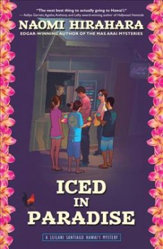 Iced in paradise : a Leilani Santiago Hawai'i mystery cover image