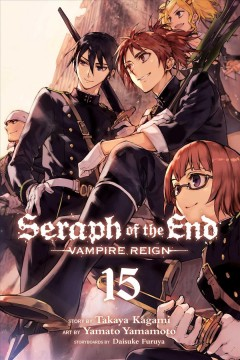 Seraph of the end. Vampire reign. 15 cover image