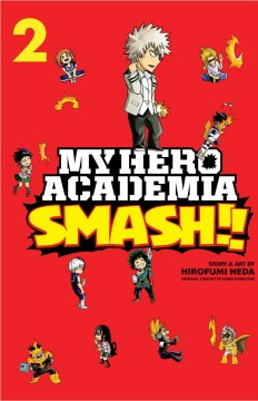 My hero academia smash!! 2 cover image
