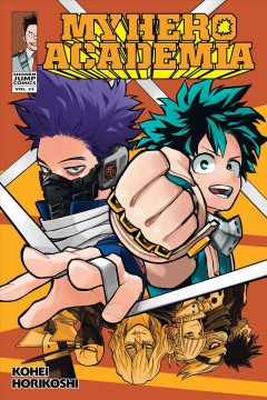 My Hero Academia. 23, Our brawl cover image