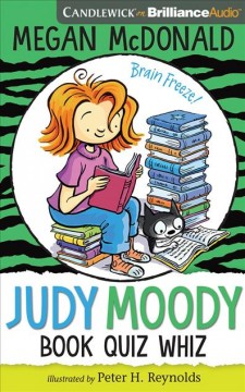 Judy Moody book quiz whiz cover image