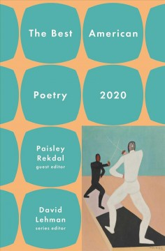 The Best American poetry cover image